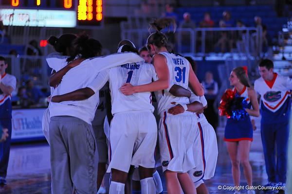 Florida Gator Womens Basketball vs Bethune-Cookman.  November 9, 2013