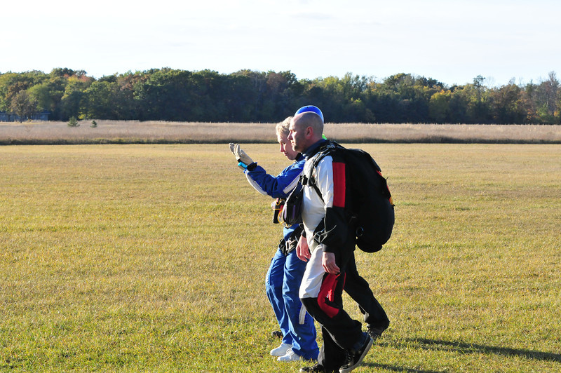 Grandma Teale Sky Diving
