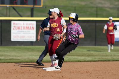 CU vs MSU softball