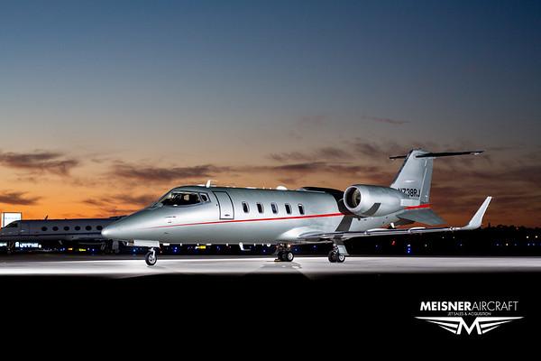 Lear Jet 60XR N738RJ (High Res w/Logo)