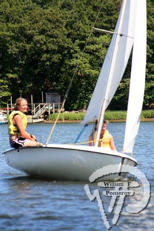 Jr. Sailing — afternoon — 7 . 10 - 2008