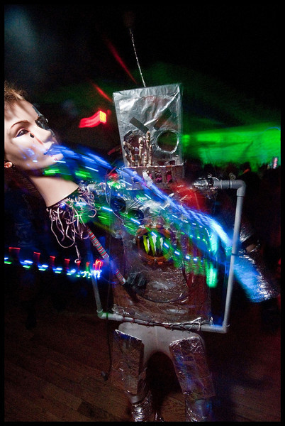dj subvert at shambhala village stage deceptikon masks 2010-30.jpg