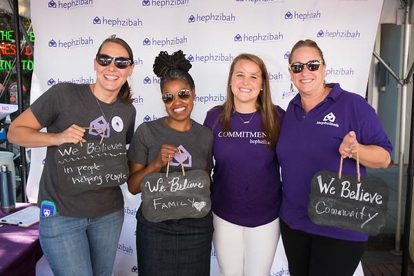 Hephzibah Children's Association at Octoberfest