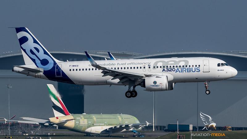 Airbus Industries / Airbus A320-271N / F-WNEO