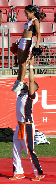 UTEP cheerleaders