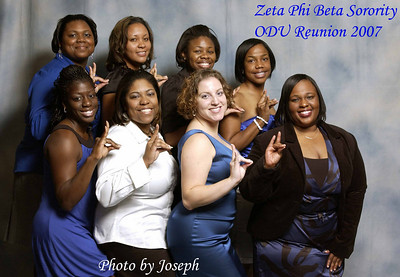 Zeta Phi Beta Sorority ODU Reunion 2007