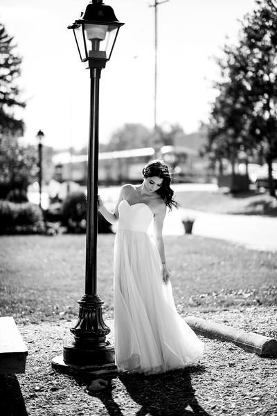 Steam into History / New Freedom PA // Tatum Bridal Shot