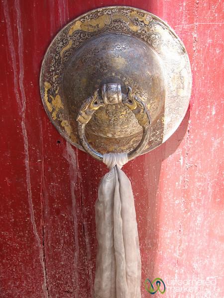 Hemis Monastery Door Knocker - Ladakh, India