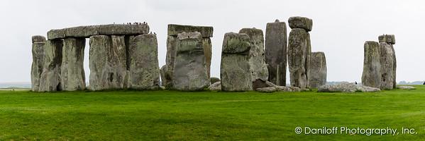 Avebury, Stonehenge, Salisbury, England - September 2017