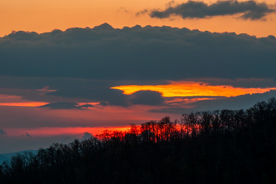 Sunset from Mt Pisgah