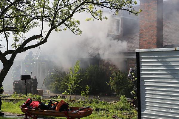 Hanover Park Box Alarm house fire, 5-7-17