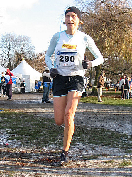 2005 Canadian XC Championships - Multi-time national champ Lucy Smith, 17th today