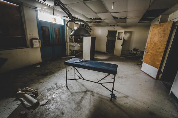 Abandoned Navy Hospital
