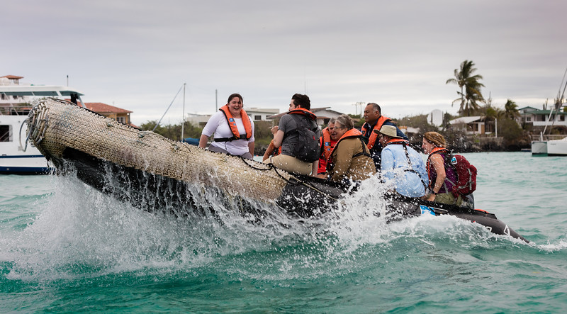 Galapagos with J, L & L Davis