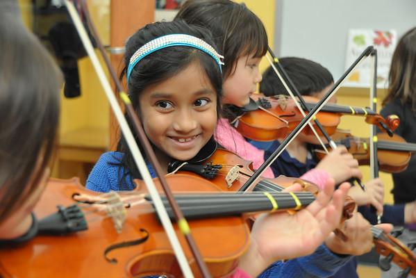Lower School Violinists