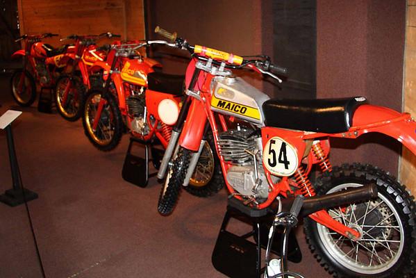 Full Throttle Motorcycle Exhibit at Shelburne Museum 2009