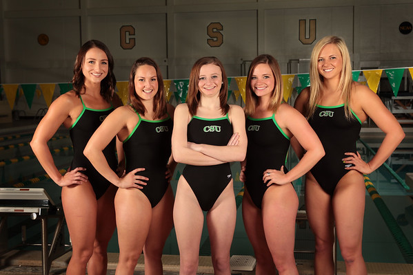 CSU Swimming 15 Seniors