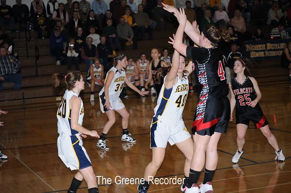Basketball Girls vs Riceville