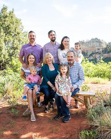 Megan Hardin and family