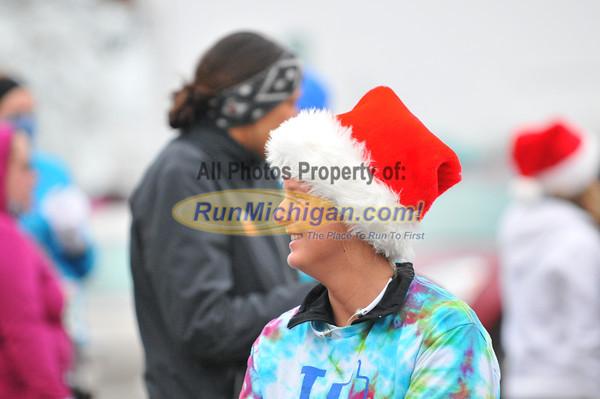 5K Run Start - 2012 New Baltimore Jingle Bell Run