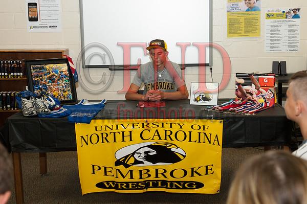 Corey Hartman Sign Pembroke