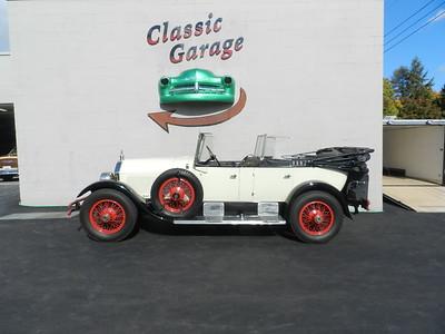 1925 Stutz Speedway Six Series 695 Seven-Passenger Touring