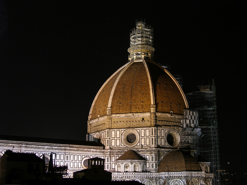 Hotel Brunelleschi - View from the Patio