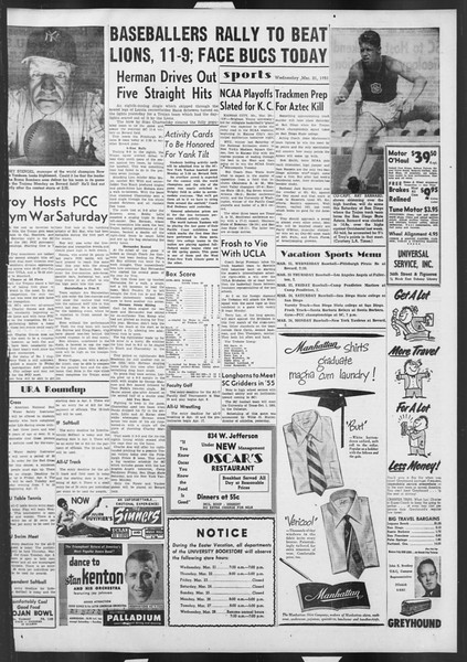 Daily Trojan, Vol. 42, No. 96, March 21, 1951