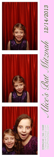 2013-12-15 Alice's Bat Mitzvah