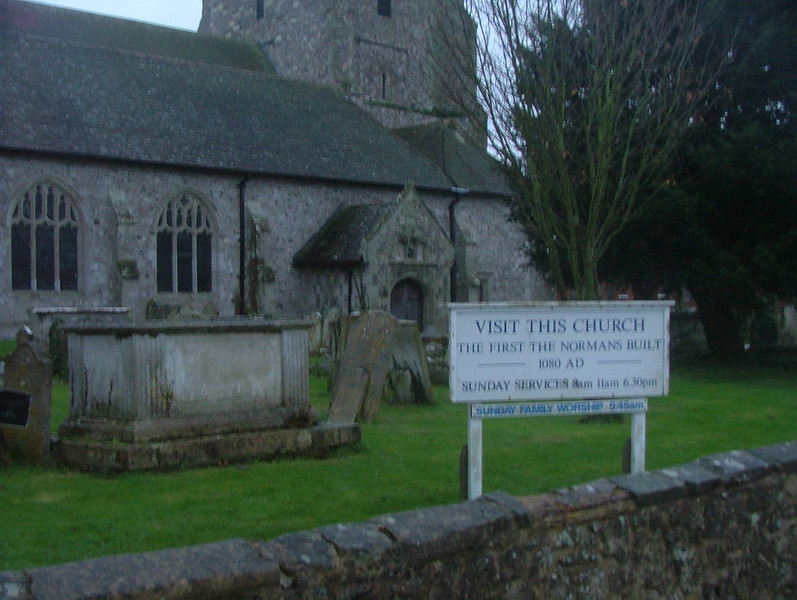 First Norman Church in England