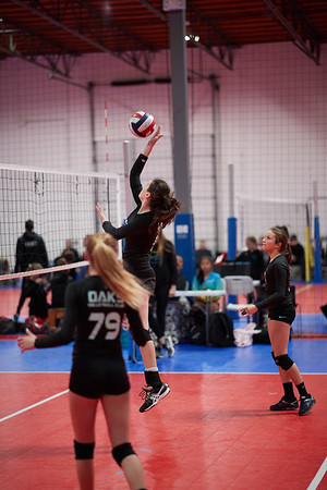 2018.02.24 Oaks 13 volleyball