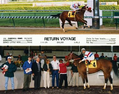 RETURN VOYAGE - 5/16/1997