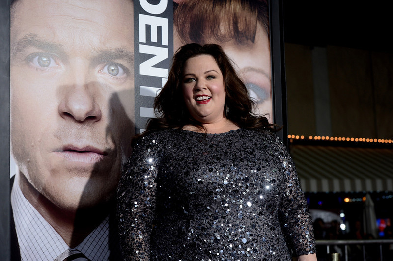". Actress Melissa McCarthy arrives at the premiere of Universal Pictures\' ""Identity Theft\"" at the Village Theatre on February 4, 2013 in Los Angeles, California.  (Photo by Kevin Winter/Getty Images)"