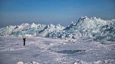 Lake Erie Ice Formations