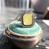 'Faithful & Firm' Yellow Chalcedony Ring, by Seal & Scribe 40