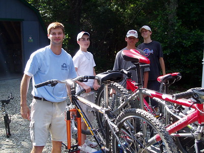 Teen Venture Mountain Biking 2003