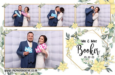 Mr & Mrs Booker - New Place Hotel - 13th December 2019