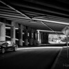 Underpass with motion.
