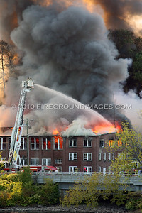 Housatonic Wire Co. 3rd Alarm (Seymour, CT) 9/11/10