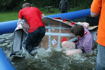 Explorers - Cardboard Box Boat Event  (May 2017)
