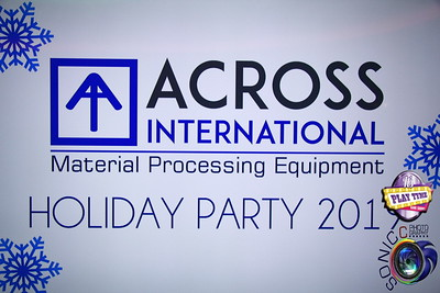 DECEMBER 20TH, 2019: ACROSS INTERNATIONAL MATERIAL PROCESSING EQUIPMENT HOLIDAY PARTY 2019