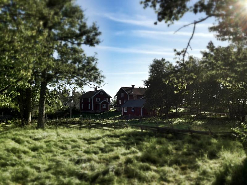 Assens by Kulturreservat, near Jonkoping, Sweden.