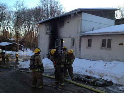 Structure Fire - Homer Ave, Chicopee, MA - 3/28/15