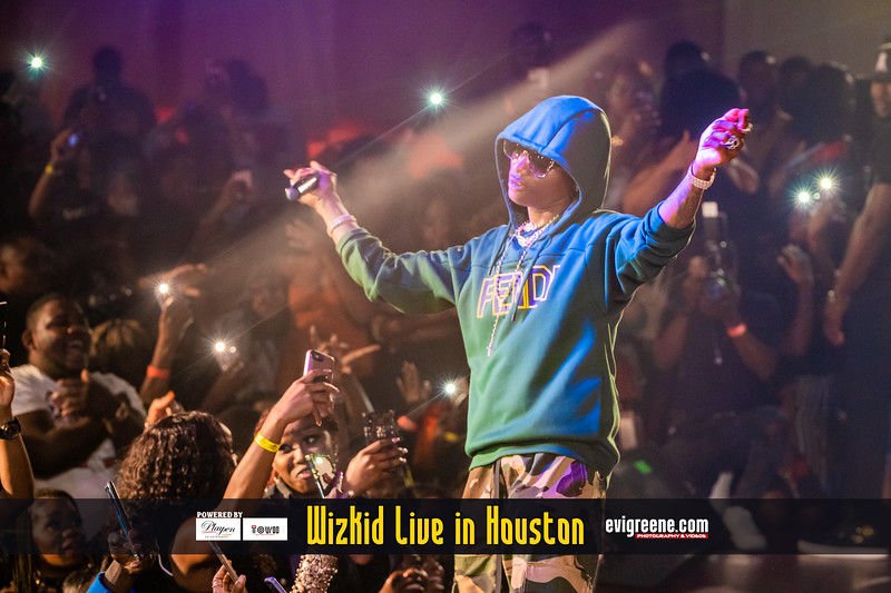 WIZKID LIVE IN HOUSTON
