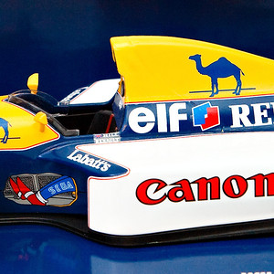 1993 #0 Williams Renault FW15 Damon Hill SOLD 8/30