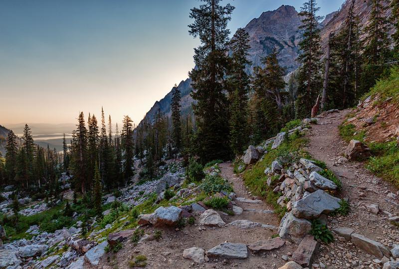 A Trail Travels Through It