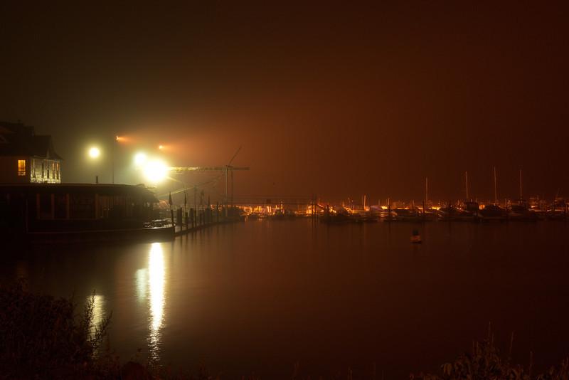 Inrondequoit Bay at Night - June 8, 2013