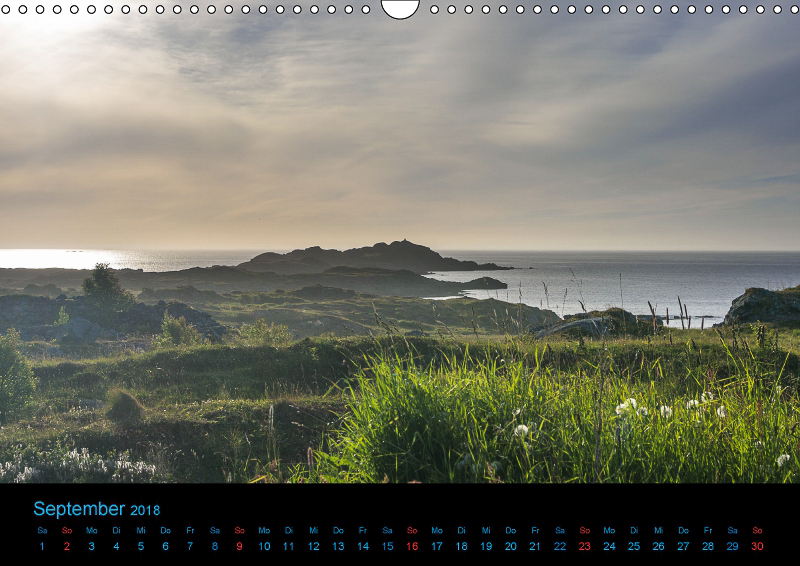 09_September calendar photo for the month september 2018