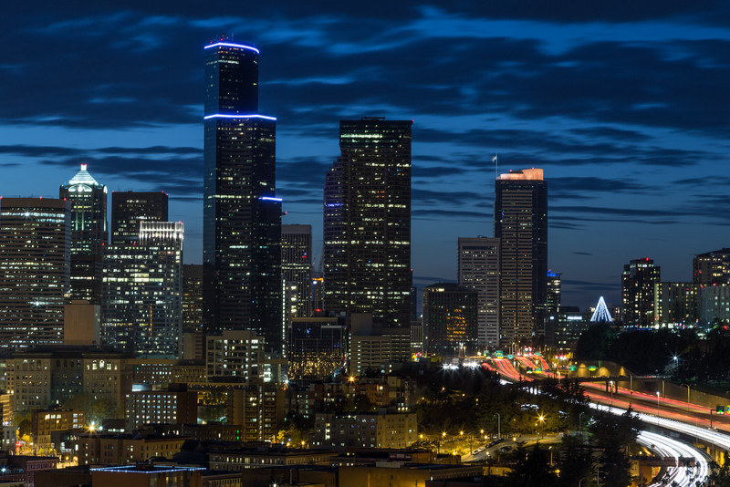 Seattle Skyline and Light Trails -052.jpg
