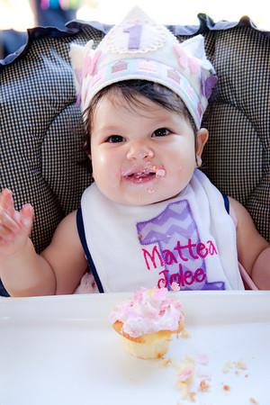 Mattea's 1st Birthday